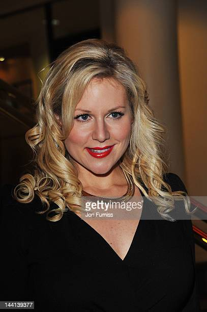 Abi Titmuss attends The Dictator World Premiere at the Royal Festival Hall on May 10 2012 in London England