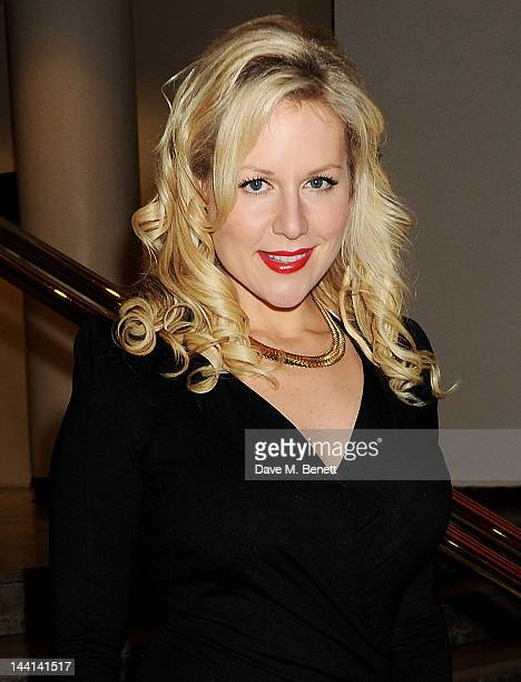 Abi Titmuss attends the World Premiere of 'The Dictator' at the Royal Festival Hall on May 10 2012 in London England