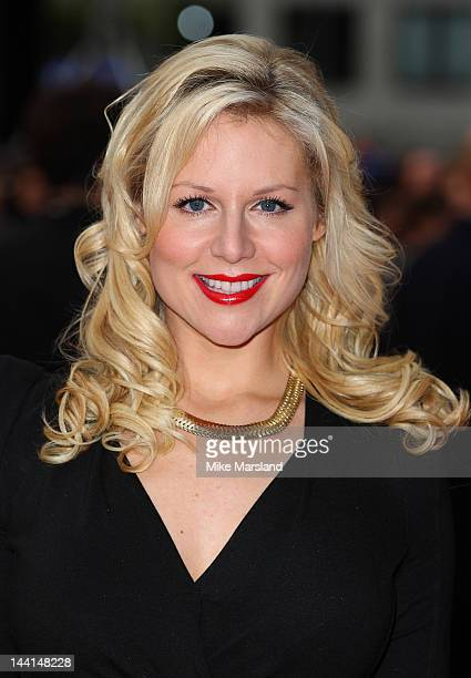 Abi Titmuss attends the world premiere of The Dictator at the Royal Festival Hall on May 10 2012 in London England