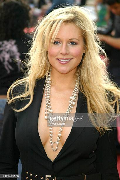 Abi Titmuss during 2004 Celebrity Awards at London Television Centre in London England Great Britain