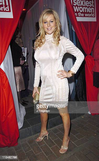 Abi Titmuss during 2005 FHM Sexiest Women Party at Umbaba in London Great Britain