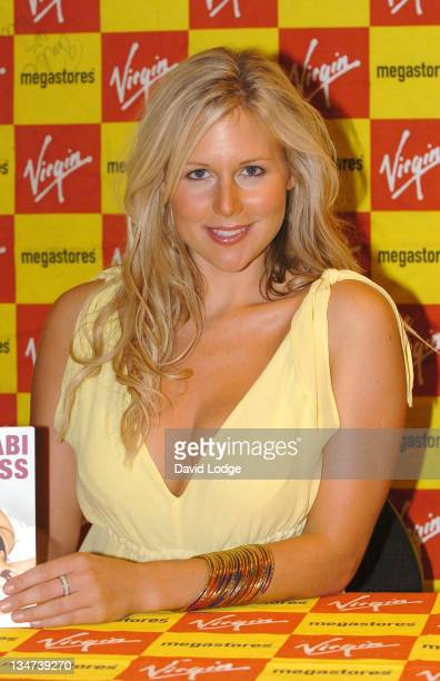 Abi Titmuss during Abi Titmuss Signs Her Book '10 Fantasies' at Virgin Megastore in London July 20 2005 at Virgin Megastore Piccadilly in London...