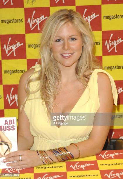 Abi Titmuss during Abi Titmuss Signs Her Book 'Ten Fantasies' at Virgin Megastore in London July 20 2005 at Virgin Megastore Piccadilly in London...