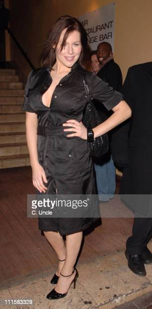 Abi Titmuss during 'Angie' in 'Two Way Mirror' Press Night - After Party - March 2, 2006 at Royal Blue in London, Great Britain.