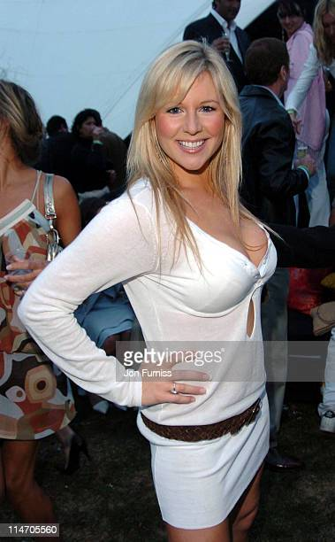 Abi Titmuss during Cartier International Day Polo Coronation Cup 2004 at Guards Polo Club in Windsor, United Kingdom.