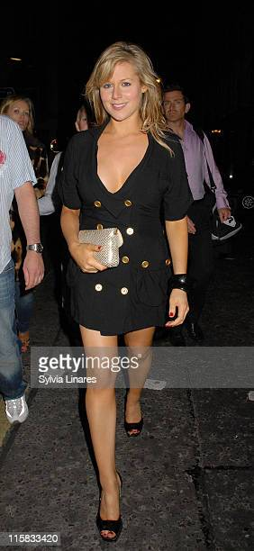 Abi Titmuss during Celebrity Sightings at Brian Freedman's Birthday Party June 7 2007 at Punk club in London Great Britain