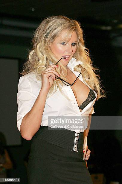 Abi Titmuss during Foster's Weekend at Dave's Photocall at ExCel Exhibition Centre in London
