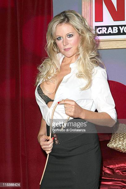 Abi Titmuss during Foster's Weekend at Dave's - Photocall at ExCel Exhibition Centre in London.