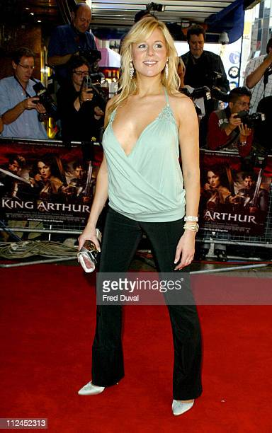 "Abi Titmuss during ""King Arthur"" London Premiere - Arrivals at Empire, Leicester Square in London, Great Britain."
