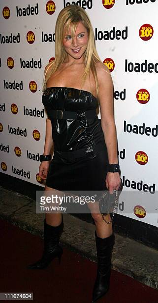 Abi Titmuss during Loaded 10th Birthday Arrivals at Rouge in London Great Britain