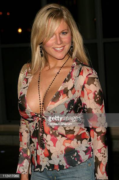 Abi Titmuss during 'Team America' Celebrity Screening at Soho Hotel in London England Great Britain