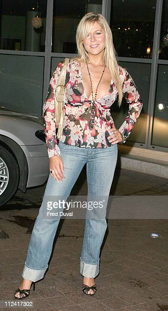 Abi Titmuss during 'Team America' Celebrity Screening at Soho Hotel in London United Kingdom