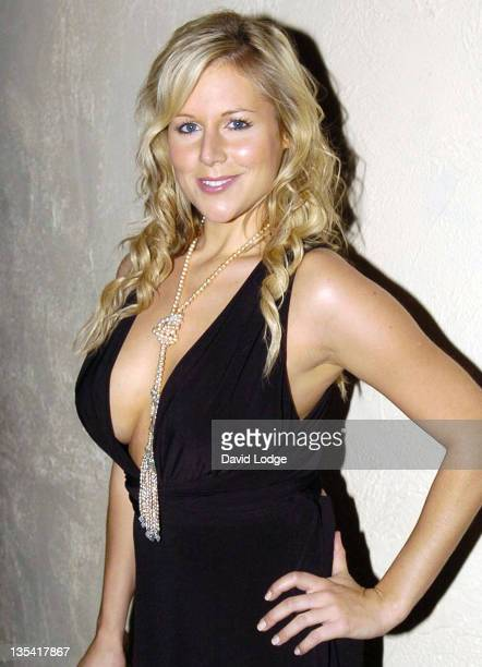 Abi Titmuss during The Rushes Soho Short Film Festival Awards Party at CC Club in London Great Britain