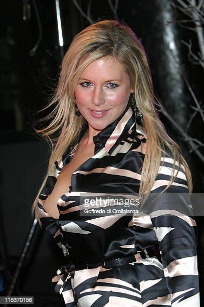 Abi Titmuss during TV Moments 2004 Awards Outside Arrivals at BBC Television Centre in London Great Britain