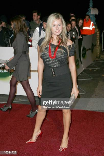 Abi Titmuss during UK Music Hall of Fame November 16 2005 at Alexandra Palace in London Great Britain