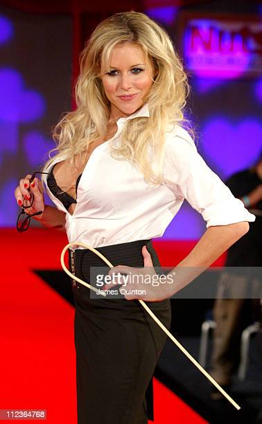 Abi Titmuss during Weekend At Dave's Photocall at ExCeL in London Great Britain