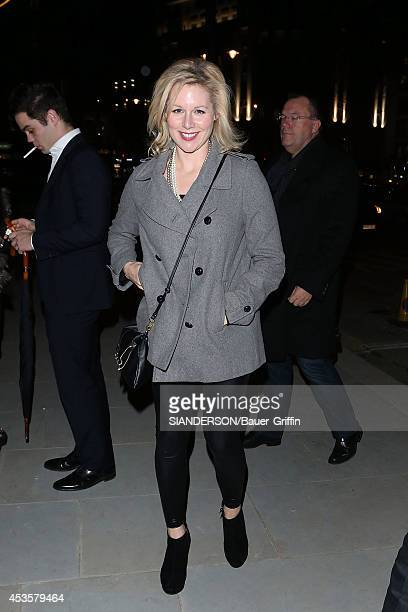 Abi Titmuss is seen on November 29 2012 in London United Kingdom