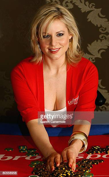 Abi Titmuss launches ladbrokespokercom European Ladies poker Championships on April 8 2008 in London England Abi will be swapping modelling for...
