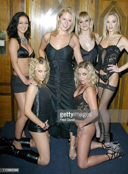 Abi Titmuss promoting the Fantasy Channel, for which she is the new face of. The TV presenter has been lined up to present the adult chanel's Spring...