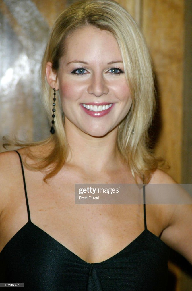 Abi Titmuss Promoting the Fantasy Channel : News Photo
