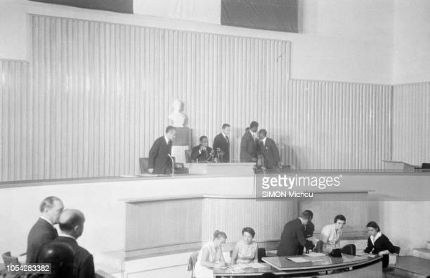 Abidjan Côte d'Ivoire Le 4 décembre 1958 la Côte d'Ivoire a proclamé sa première République et est entrée dans la Communauté française association...