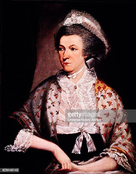 Abigail Adams American First Lady Wife of President John Adams Mother of President John Quincy Adams Portrait Mather Brown 1785