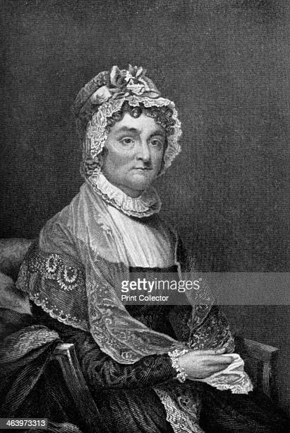Abigail Adams wife of President John Adams 18th century Abigail Adams was the wife of John Adams the second President of the United States and mother...