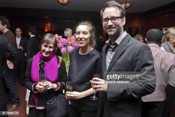 Abigail Agranat Penny Hardy and Granger Moorhead attend STEVEN HARRIS ARCHITECTS TRUE LIFE at Private Club on December 6 2010 in New York City