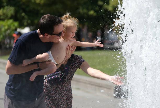 DEU: Saharan Heat Wave Hits Germany