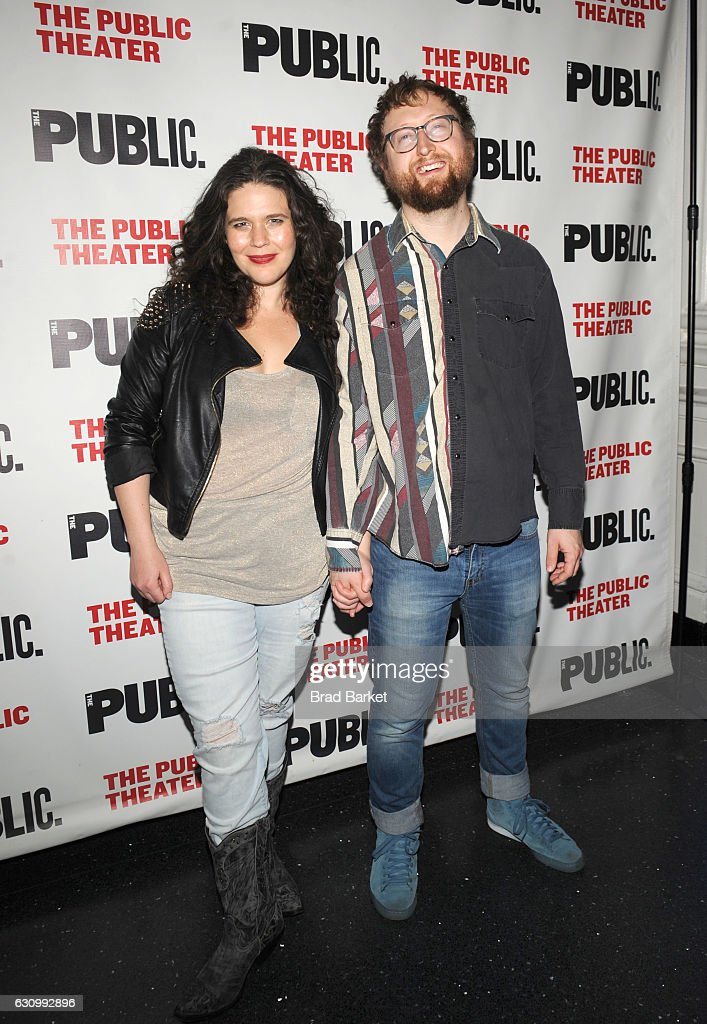 Abigail Bengson(L) and Shaun Bengson attend the 13th Annual Under the Radar Festival 2017 Opening Night at The Public Theater on January 4, 2017 in New York City.
