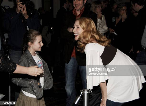 Abigail Breslin and Patricia Clarkson during Sundance Institute at BAM Opening Night Celebration Arrivals at BAM in New York City New York United...