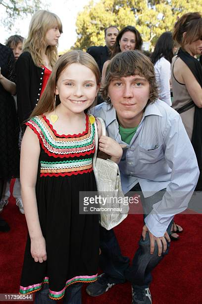Abigail Breslin and Paul Dano during Fox Searchlight Pictures Premiere of Little Miss Sunshine at the Closing Night Celebration of The Los Angeles...