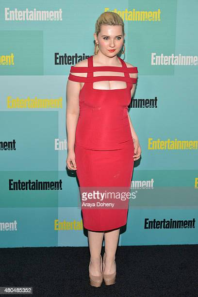 Abigail Breslin arrives at the Entertainment Weekly celebration at Float at Hard Rock Hotel San Diego on July 11 2015 in San Diego California