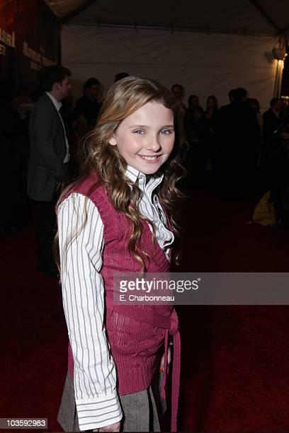 "Abigail Breslin at the Walt Disney Pictures premiere of ""National Treasure-Book of Secrets"" on December 13, 2007 at the Ziegfeld Theatre in New York,..."