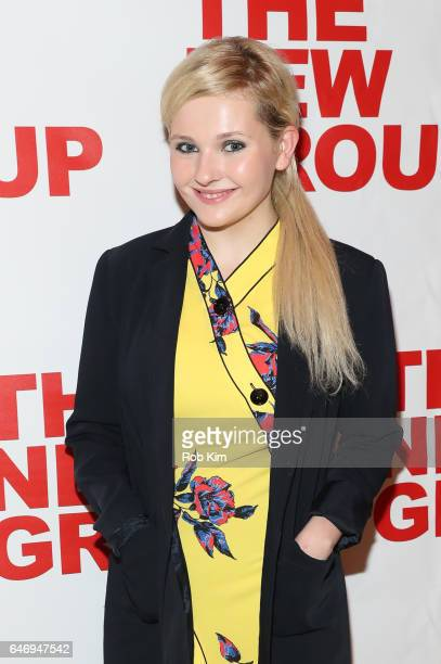 "Abigail Breslin attends ""All The Fine Boys"" Opening Night on March 1, 2017 in New York City."