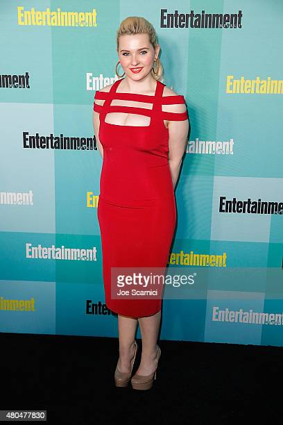 Abigail Breslin attends ComicCon International 2015 Entertainment Weekly ComicCon Celebration at Float at Hard Rock Hotel San Diego on July 11 2015...