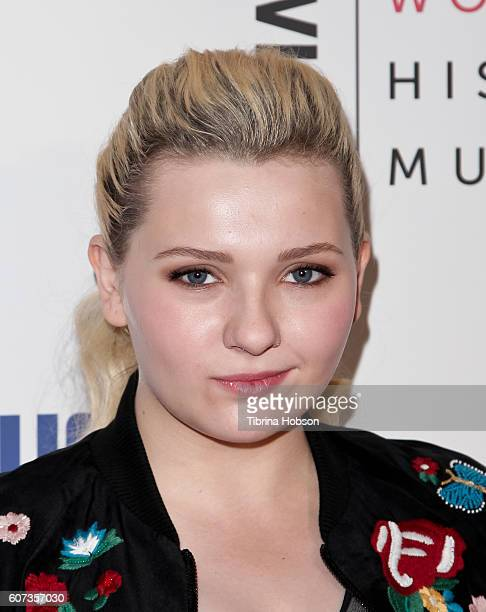 Abigail Breslin attends the 5th annual Women Making History Brunch at Montage Beverly Hills on September 17 2016 in Beverly Hills California