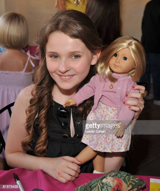 Abigail Breslin attends the after party for the premiere of Kit Kittredge An American Girl at the American Girl store at The Grove on June 14 2008 in...