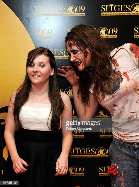 Abigail Breslin attends the European Premiere for 'Zombieland' at the 42nd Sitges Film Festival on October 10 2009 in Barcelona Spain