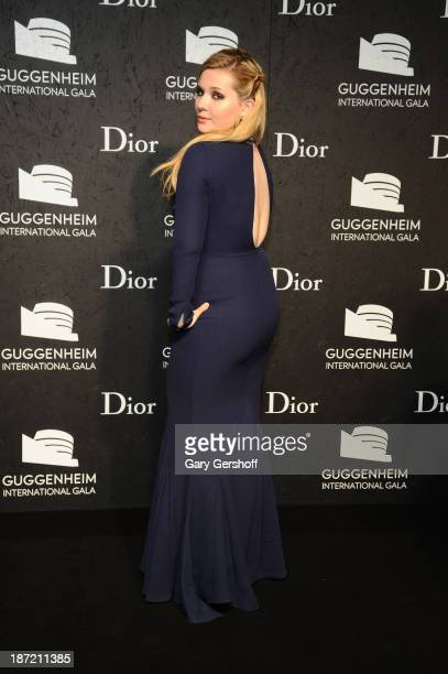 Abigail Breslin attends the Guggenheim International Gala made possible by Dior Preparty hosted by The Young Collector's Council at the Guggenheim...