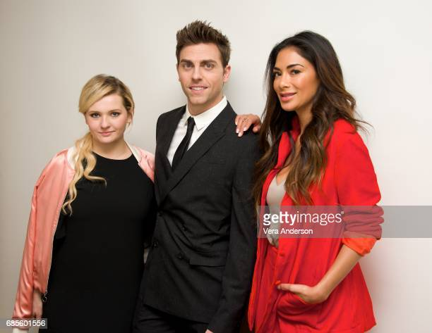 Abigail Breslin Colt Prattes and Nicole Scherzinger at the 'Dirty Dancing' Press Conference at the Four Seasons Hotel on May 18 2017 in Beverly Hills...