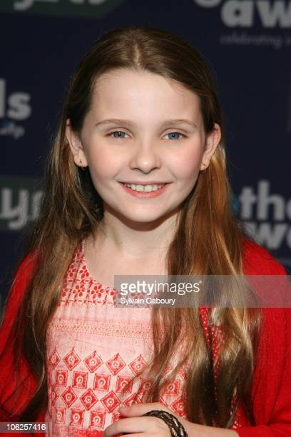Abigail Breslin during 16th Annual Gotham Awards Red Carpet at Chelsea Piers at Pier 60 in New York City New York United States