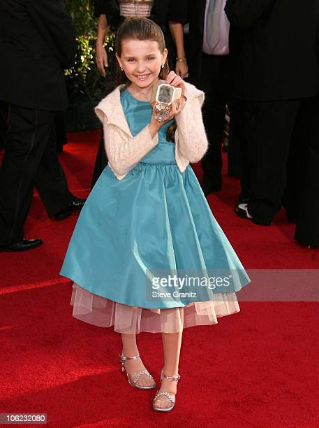 Abigail Breslin during 64th Annual Golden Globe Awards Arrivals at Beverly Hilton in Beverly Hills CA United States