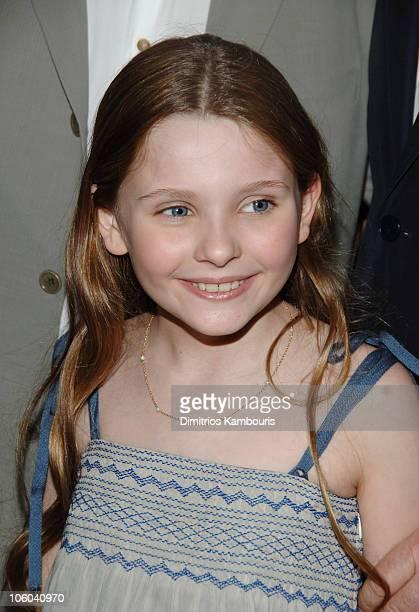"Abigail Breslin during ""Little Miss Sunshine"" New York City Premiere - Inside Arrivals at AMC Loews Lincoln Square in New York City, New York, United..."