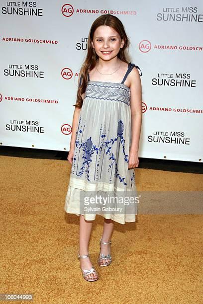 Abigail Breslin during Little Miss Sunshine New York City Premiere Arrivals at Loews Lincoln Square in New York City New York United States