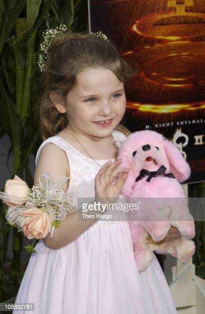Abigail Breslin during Signs Premiere New York at Alice Tully Hall in New York City New York United States