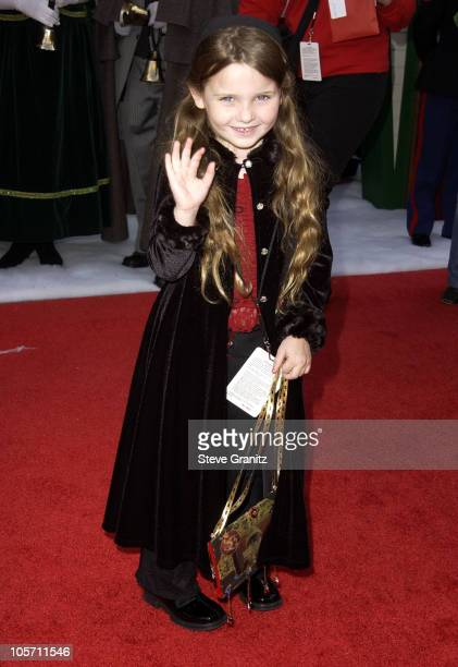 Abigail Breslin during The Santa Clause 2 Premiere at El Capitan Theatre in Hollywood California United States
