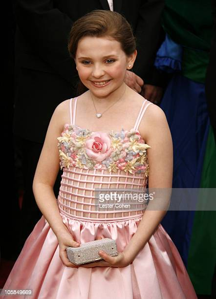 Abigail Breslin nominee Best Actress in a Supporting Role for Little Miss Sunshine