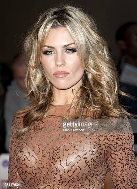 Abigail Clancy Arrives For The Daily Mirror'S Pride Of Britain Awards 2009 At The Grosvenor House Hotel Park Lane London