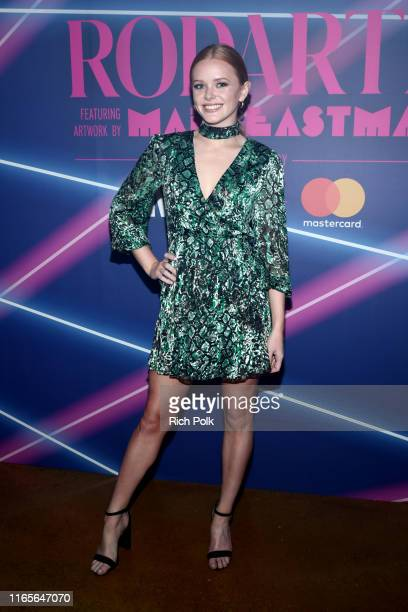 Abigail Cowen attends MADE Rodarte Event Presented By Mastercard at Milk Studios on August 01 2019 in Los Angeles California